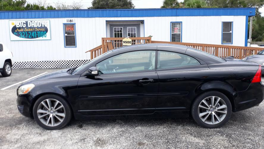 2011 Black Volvo C70 T5 (YV1672MC4BJ) with an 2.5L L5 DOHC 20V TURBO engine, automatic Overdrive transmission, located at 1181 Aurora Rd, Melbourne, FL, 32935, (321) 241-1100, 28.132914, -80.639175 - Photo #0