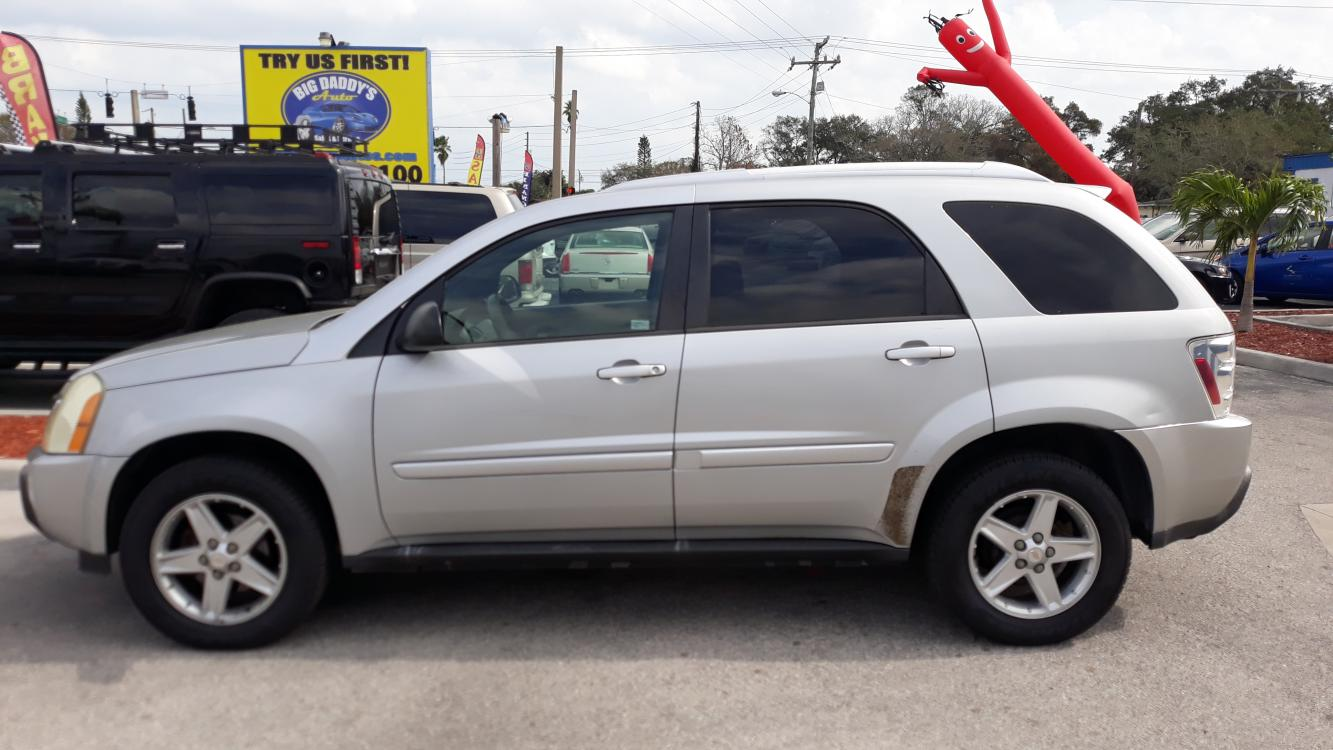 2005 Silver Chevrolet Equinox LT AWD (2CNDL73F856) with an 3.4L V6 OHV 12V engine, Automatic transmission, located at 1181 Aurora Rd, Melbourne, FL, 32935, (321) 241-1100, 28.132914, -80.639175 - Photo #0
