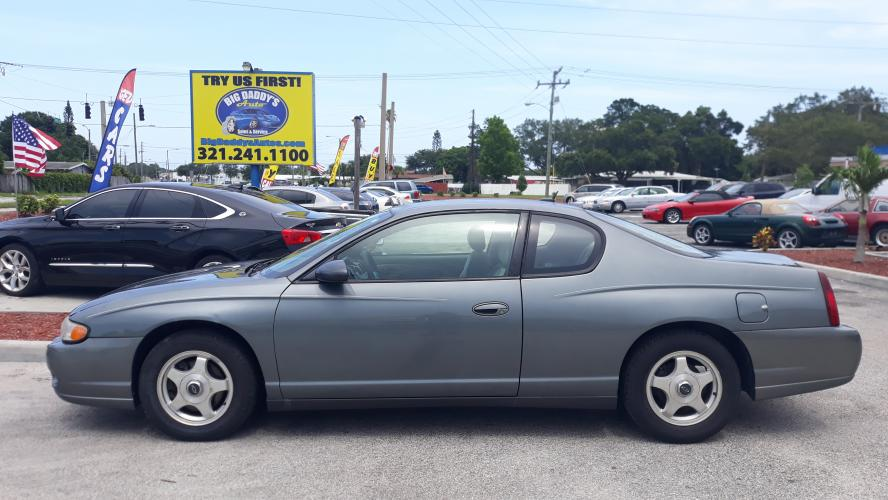 2005 Grey Chevrolet Monte Carlo LS (2G1WW12E159) with an 3.4L V6 OHV 12V engine, 4-Speed Automatic Overdrive transmission, located at 1181 Aurora Rd, Melbourne, FL, 32935, (321) 241-1100, 28.132914, -80.639175 - Photo #0