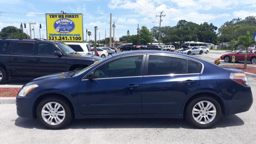 2010 Blue Nissan Altima 2.5 (1N4AL2AP2AN) with an 2.5L L4 DOHC 16V engine, AUTOMATIC transmission, located at 1181 Aurora Rd, Melbourne, FL, 32935, (321) 241-1100, 28.132914, -80.639175 - Photo #0