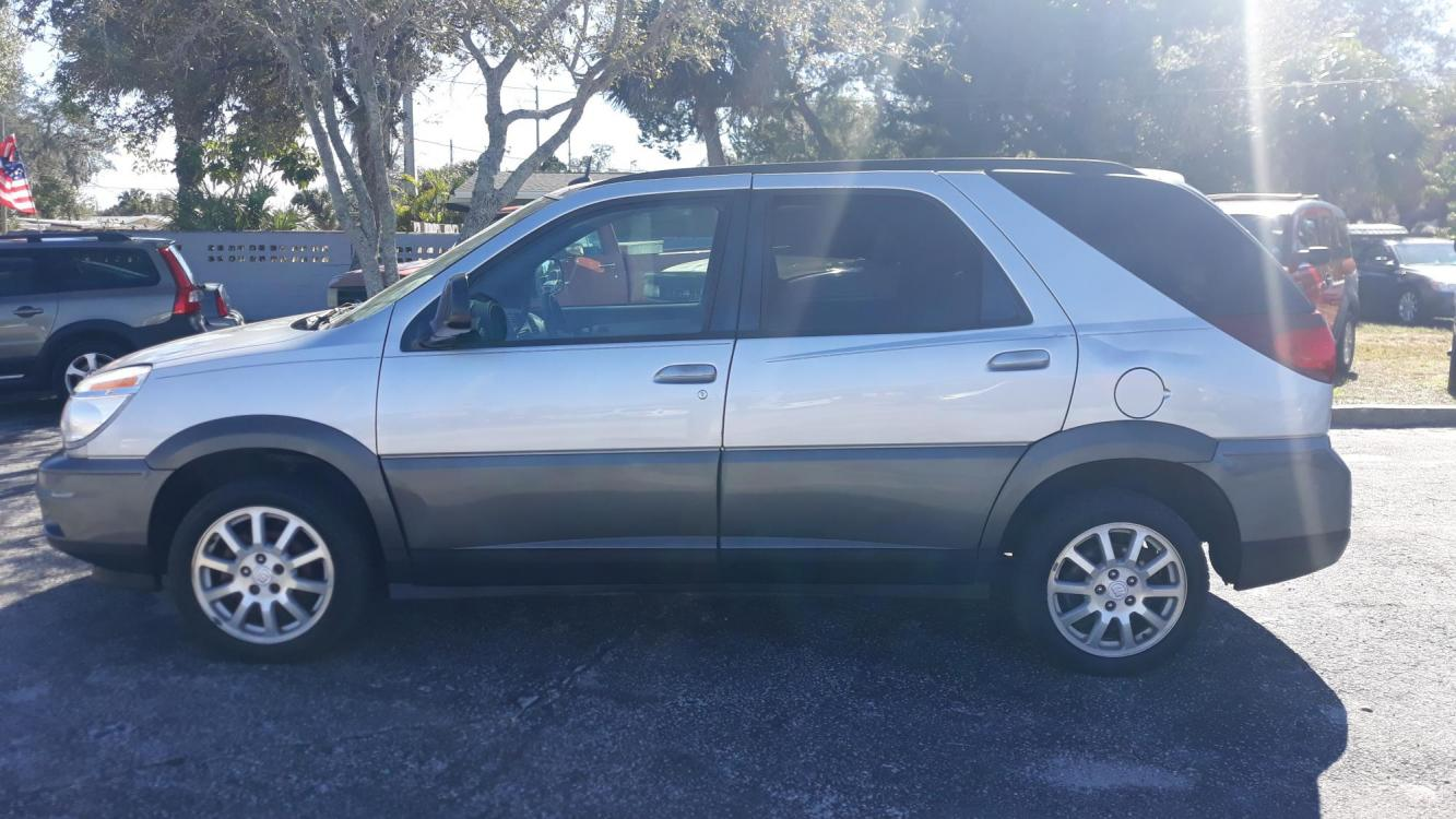 2005 Grey Buick Rendezvous CX (3G5DA03E95S) with an 3.4L V6 OHV 12V engine, Automatic Overdrive transmission, located at 1181 Aurora Rd, Melbourne, FL, 32935, (321) 241-1100, 28.132914, -80.639175 - Photo #0