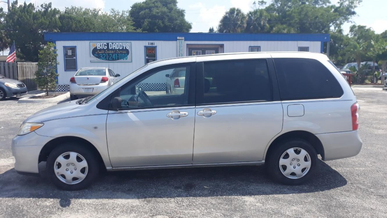 2006 Silver Mazda MPV ES (JM3LW28A760) with an 3.0L V6 DOHC 24V engine, Automatic Overdrive transmission, located at 1181 Aurora Rd, Melbourne, FL, 32935, (321) 241-1100, 28.132914, -80.639175 - Photo #0