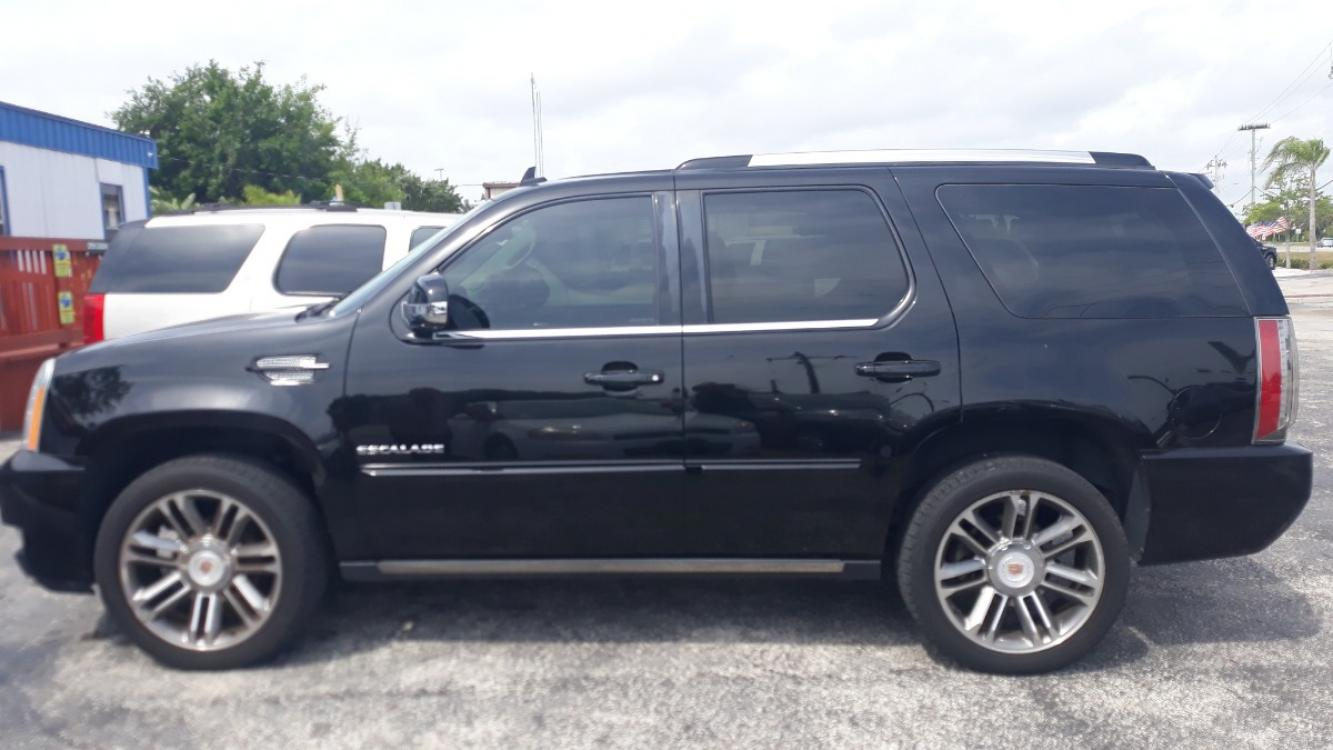 2013 Black Cadillac Escalade 2WD Premium (1GYS3CEF3DR) with an 6.2L V8 OHV 16V FFV engine, Automatic transmission, located at 1181 Aurora Rd, Melbourne, FL, 32935, (321) 241-1100, 28.132914, -80.639175 - Photo #0