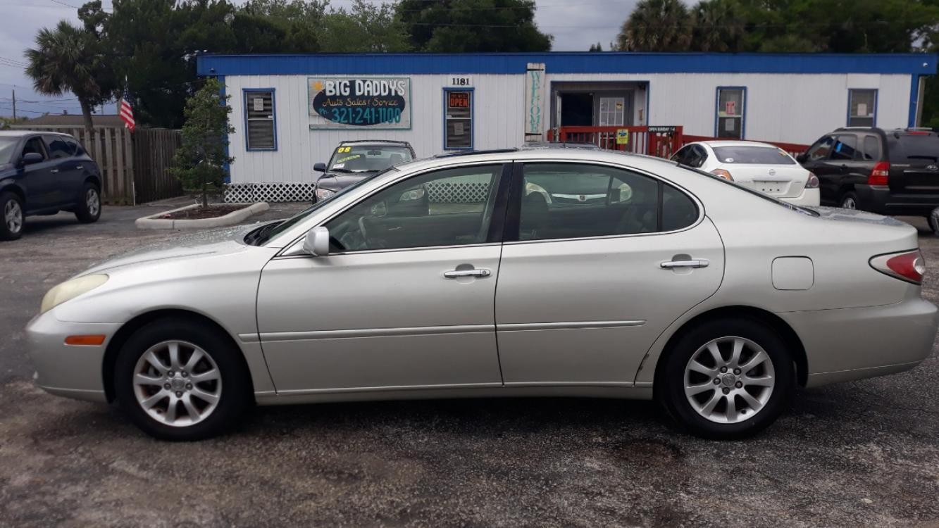 2004 Silver Lexus ES 330 Sedan (JTHBA30G045) with an 3.3L V6 DOHC 24V engine, Automatic Overdrive transmission, located at 1181 Aurora Rd, Melbourne, FL, 32935, (321) 241-1100, 28.132914, -80.639175 - Photo #0