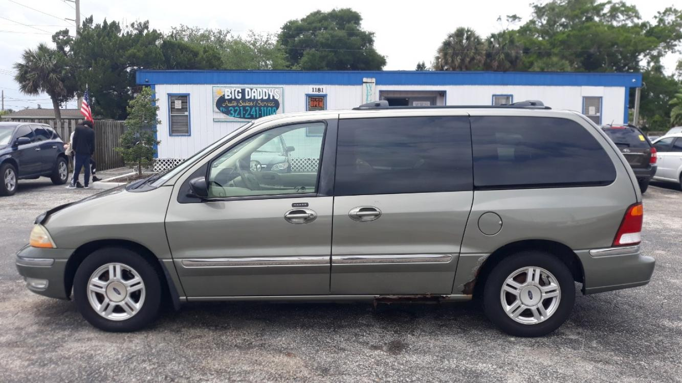2002 GREEN Ford Windstar SE (2FMZA52462B) with an 3.8L V6 OHV 12V engine, Automatic Overdrive transmission, located at 1181 Aurora Rd, Melbourne, FL, 32935, (321) 241-1100, 28.132914, -80.639175 - Photo #0