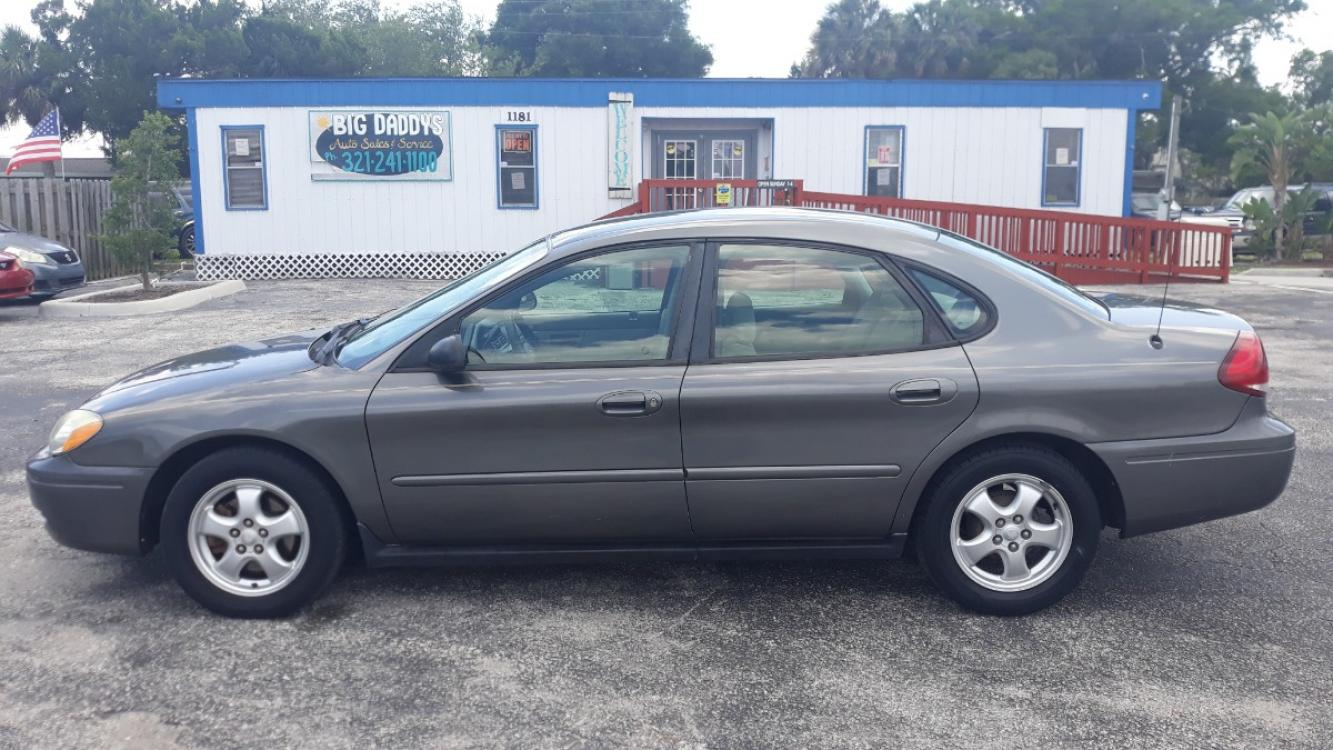 2005 Grey Ford Taurus SE (1FAFP53285A) with an 3.0L V6 OHV 12V FFV engine, Automatic Overdrive transmission, located at 1181 Aurora Rd, Melbourne, FL, 32935, (321) 241-1100, 28.132914, -80.639175 - Photo #0